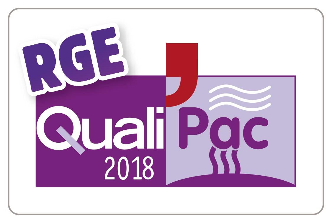 Logo qualipac 2018 rge